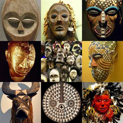 african masks information  examples