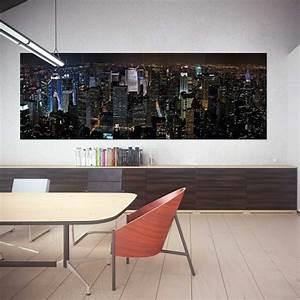 Wand Poster New York : new york city panorama wand kunstdruck riesenposter ~ Markanthonyermac.com Haus und Dekorationen