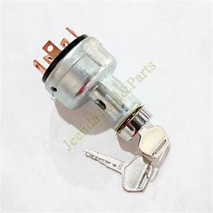 6 Terminal Wire Type Ignition Switch 7y3918 U  2 Keys For