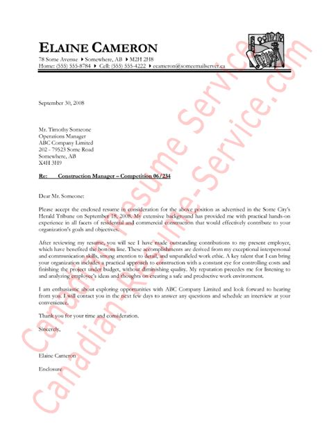 construction manager letter  introduction sample
