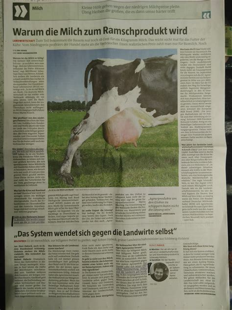 Warum Die Milch Zum Ramschprodukt Wird