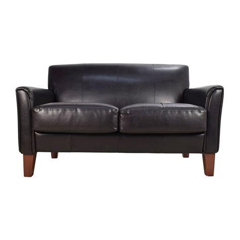 Black Loveseats by 53 Black Leather Loveseat Sofas