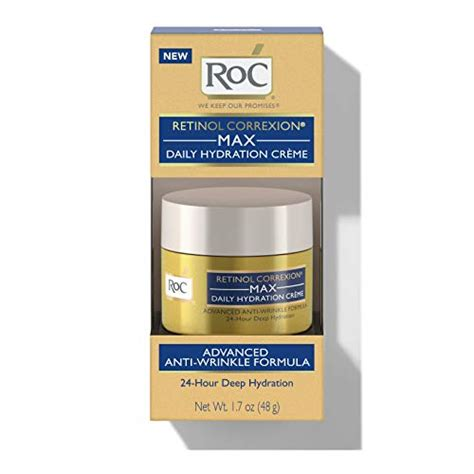 RoC Retinol Correxion Max Daily Hydration Anti-Aging Crème ...