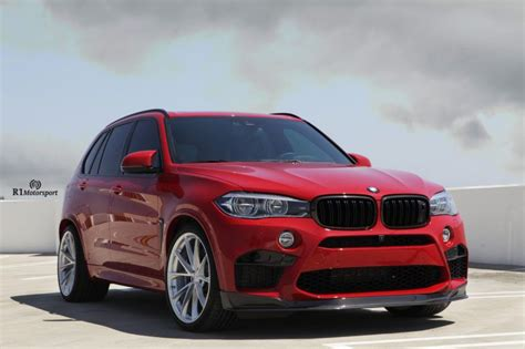 Melbourne Red Bmw X5 M Gets Classy Looking Hre Wheels