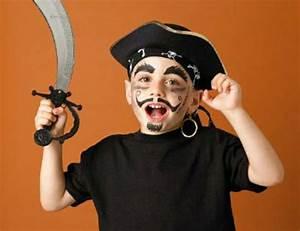 Maquillage Pirate Halloween : maquillage d halloween original pour femmes hommes et enfants ~ Nature-et-papiers.com Idées de Décoration