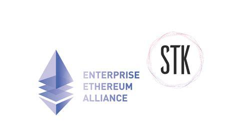 stk token joins the ethereum enterprise alliance cryptoninjas