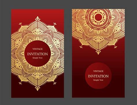 wedding invitation  card  abstract background islam