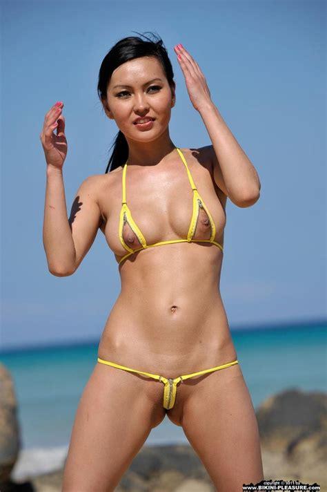 agnes neilla open zips bikinis micro pinterest micro bikini