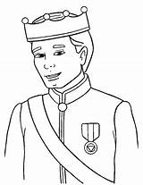 Prince Coloring Pages sketch template
