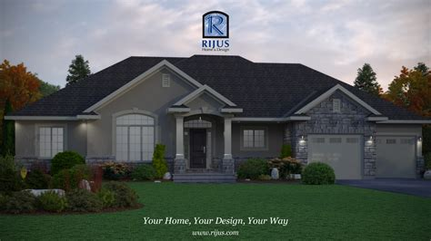 Custom Home House Plans House Plans Patio Home, Bungalow