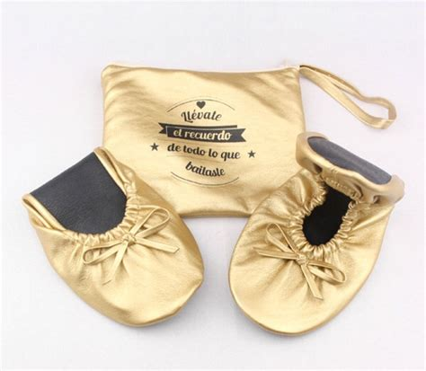 personalized rollable flats wedding flats  guest