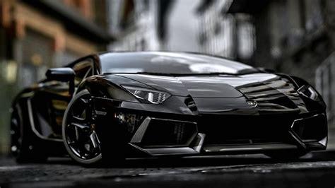 Lamborghini Cars Wallpapers 3d by Black Lamborghini Aventador Wallpaper Hd 1080p