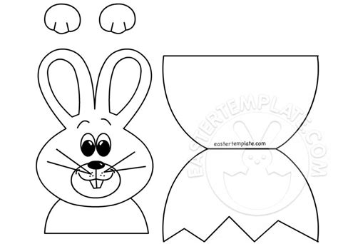 easter bunny cut out template 89047 easter bunny cut out templates happy easter