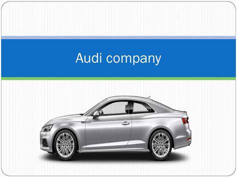 Audi Company audi company презентация онлайн