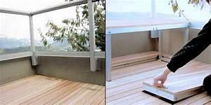Balkon Bank Klein : ontwerp idee voor klein balkon interieur inrichting ~ Frokenaadalensverden.com Haus und Dekorationen