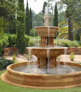 25 best ideas about outdoor water fountains on pinterest for Backyard water fountains