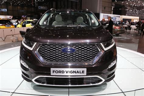 edge vignale   class  fords suv lineup carscoops