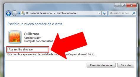 Cambiar El Nombre De La Carpeta De Usuario Windows 8