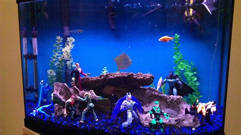 fish tank christmas decorations