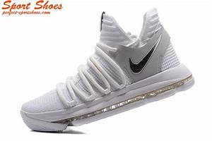 Nike Kd 10 X Still KD White Silver Kevin Durant Basketball ...