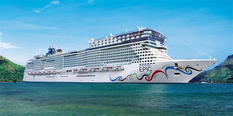 norwegian epic cruise ship review  departure
