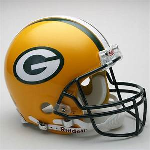 Green Bay Packers Authentic Pro Line Riddell Full Size ...