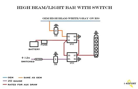 Wiring Led Light Bar Daystar Switches Forum