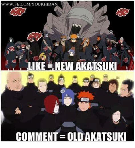 Akatsuki Memes - www bcomyourhida like nen akatsuki comment oldakatsuki meme on sizzle