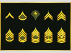 Army Enlisted Rank Promotion System Breakdown