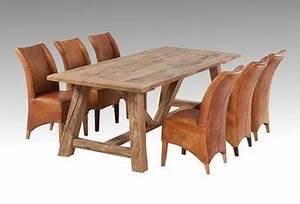 Esstisch Massivholz Rustikal : massive eichen esstische aus altem holz altholzdesign ~ Markanthonyermac.com Haus und Dekorationen