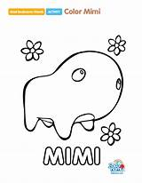 Coloring Pages Badanamu Template Cat Rainbow sketch template