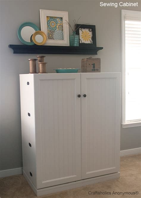 craft cabinet with drop table craftaholics anonymous 174 sewing cabinet