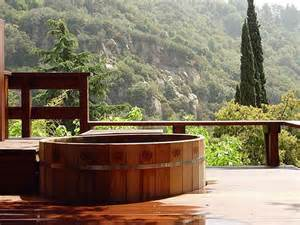 Japanese Wooden Hot Tub