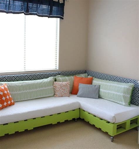 Couch With Sofa Bed by My Little Surfer Dudes Beach Pad