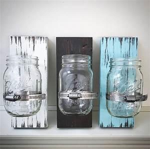 Custom Ball Mason Jar Holders Wooden Glass Jar Clamp Signs