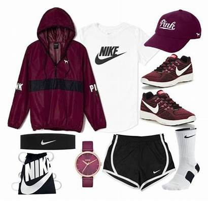 Nike Outfits Teens Clothes Polyvore Sporty Athletic