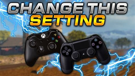 warzone controller layout cod button ping settings bumper change trash