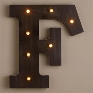 letter f led battery operated marquee light world market With battery operated marquee letter lights