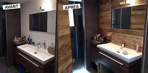 Salle De Bain Avant Après : salle de bain avant apr s home staging pinterest ~ Mglfilm.com Idées de Décoration