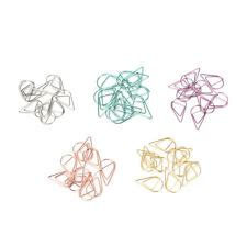 shaped paper clips ebay