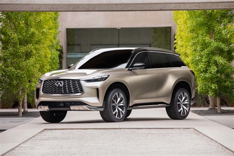 Infiniti QX60 Monograph concept hints at sexy redesign for ...