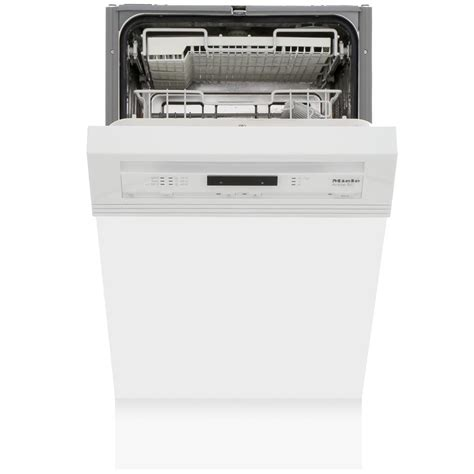 I expected it to be very good, but it exceeds expectations. Buy Miele G4620SCi Brilliant White Built In Semi Int. Slimline Dishwasher (G4620SCiWhite ...