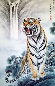 The gallery for --> Chinese Tiger Drawing