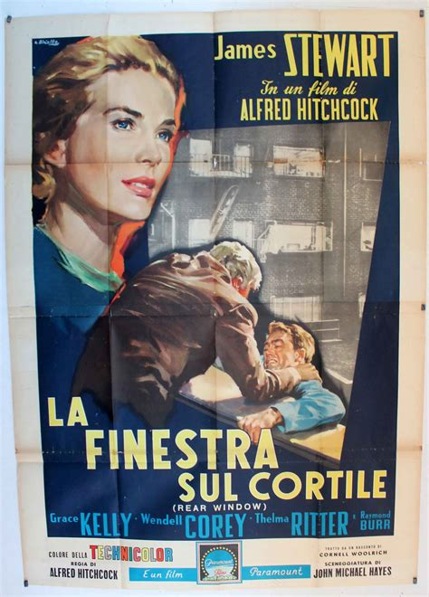 la finestra sul cortile quot la finestra sul cortile quot poster quot rear window