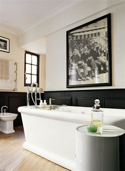 Then, take your modern art and wall decor up a notch with coordinating accents around the room. Strong Masculine Bathroom Decor Ideas | Inspiration and Ideas from Maison Valentina