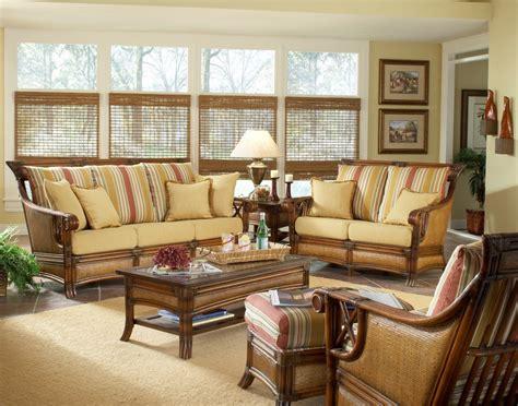 Nice Wicker Sunroom Furniture Sets