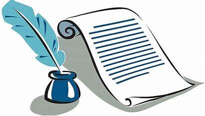 Ink Legal Documents Pen Ancient Vector Parchment