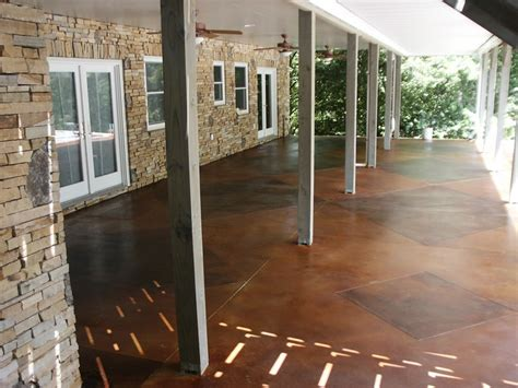 stained concrete patio ideas that will make your home