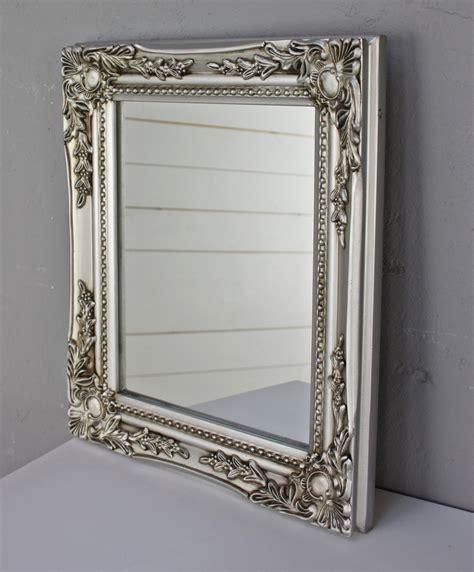 spiegel barock silber spiegel wandspiegel barock silber antik holz landhaus cottage badspiegel neu ebay