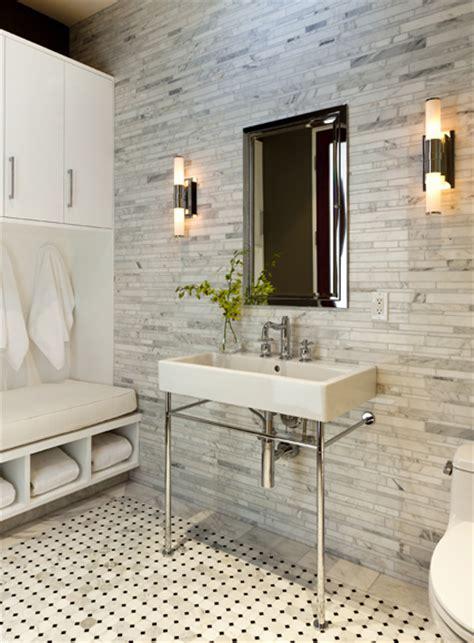Linear Tile Backsplash Design Ideas